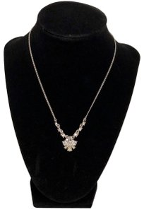 Givenchy NEW Givenchy - Crystal Cluster Pendant Necklace