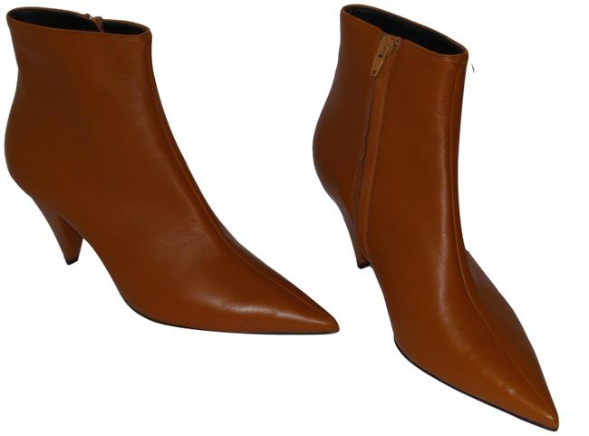 Item - Rust Soft Lambskin Leather Ankle Boots/Booties Size EU 39.5 (Approx. US 9.5) Regular (M, B)