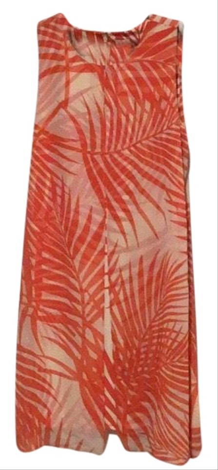 2ac3f90b241 Chico s Sheer Overlay Mid-length Short Casual Dress Size 12 (L) 80% off  retail