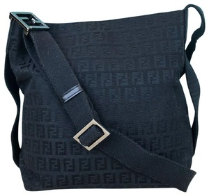 88f22efc12e9 Fendi Black Messenger Bags - Up to 70% off at Tradesy