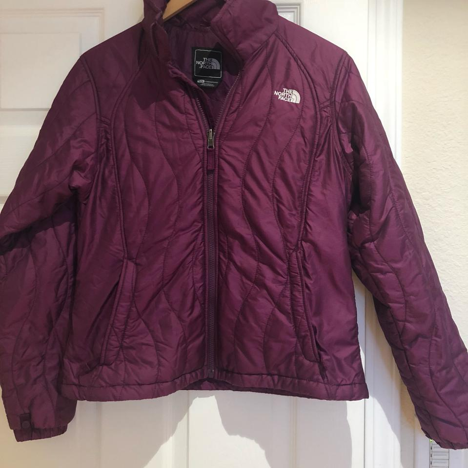 sale north face purple puffer jacket 0d727 f41b9 a68025f8f