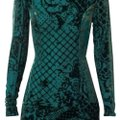 Balmain x H&M Green Short Night Out Dress Size 2 (XS) Balmain x H&M Green Short Night Out Dress Size 2 (XS) Image 1