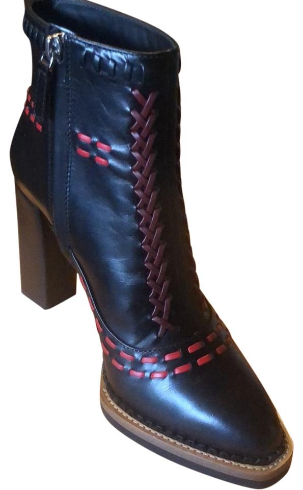 394d84a331cb Tod s Gipsy Cross Stitch Boots Booties Size US 7 Regular (M