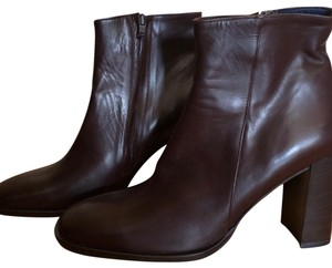J.Crew Ankle Leather Ankle Italy Italian Leather brown Boots
