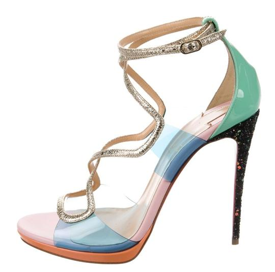 Preload https://img-static.tradesy.com/item/24584371/christian-louboutin-clear-mint-pink-artisteric-120-patent-and-pvc-sandals-size-eu-395-approx-us-95-r-0-0-540-540.jpg