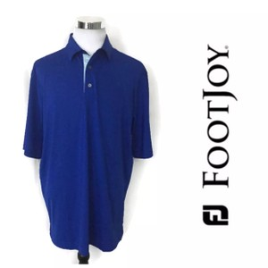 FootJoy Blue Men's Polo Golf Shirt