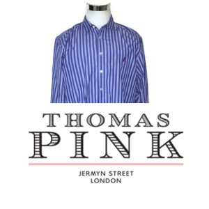 Thomas Pink Purple Men's Fresh Cuff Button Down Dress Shirt