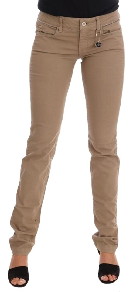 innovative design special selection of reasonably priced CoSTUME NATIONAL Beige W D30130-1 Women's Cotton Stretch Slim Fit (W 26)  Skinny Jeans Size 26 (2, XS) 58% off retail