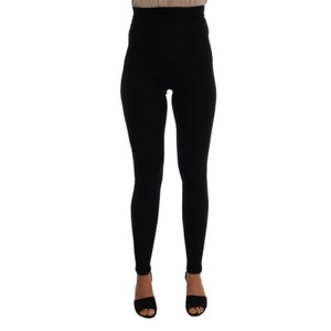 Dolce&Gabbana D201-1 Women's Cashmere Stretch Tights Jeggings
