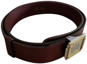 Cartier Santos Logo Two Tone Silver and Gold Buckle Unisex
