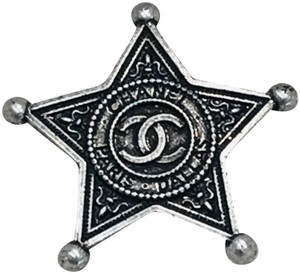 Chanel Paris Dallas Star Brooch
