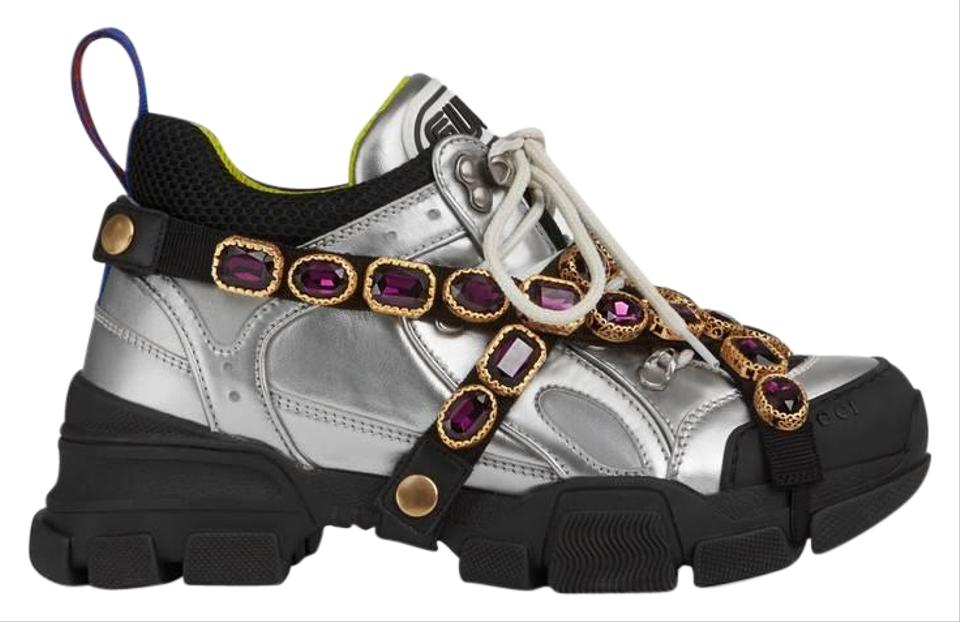 23f059fde89d Mulitcolor Flashtrek Sneakers with Removable Crystals Sneakers