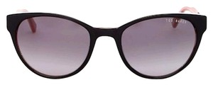 Ted Baker Ted Baker Fleet Black and Floral Slim Lined WayfarerCat eye Sunglasses