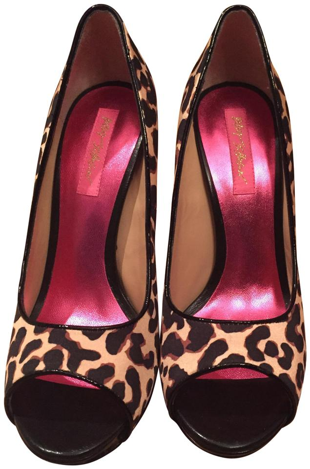 362607b041c2 Betsey Johnson Leopard See Picture Of Bottom Of Formal Shoes. Size: US 8.5  Regular ...