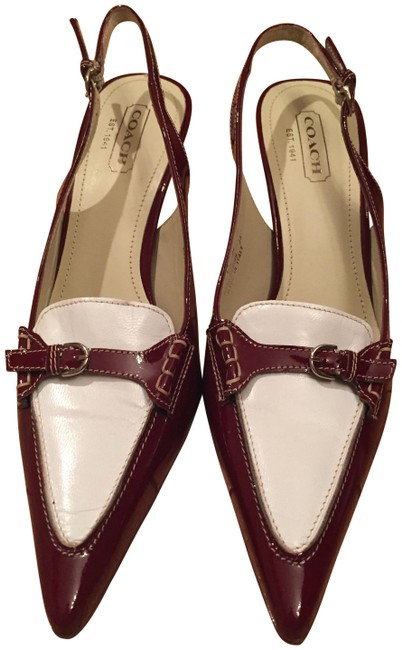 Item - Burgandy and Beige P447 Adrian - Made In Italy Formal Shoes Size US 9.5 Regular (M, B)