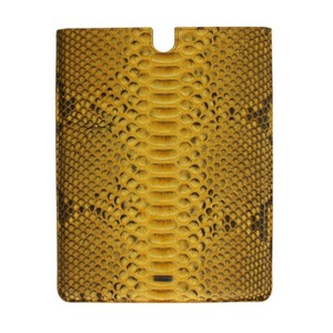 Dolce&Gabbana D18269 Yellow Snakeskin P2 Tablet Ebook Cover (25 cm x 19.5 cm)