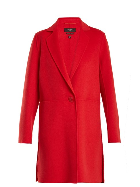 Item - Red Timoteo Coat Size 4 (S)