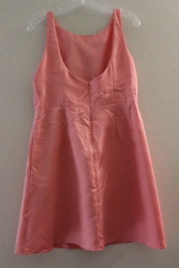 Wtoo Coral Polyester Rn 84643 Traditional Bridesmaid/Mob Dress Size 8 (M) Image 3