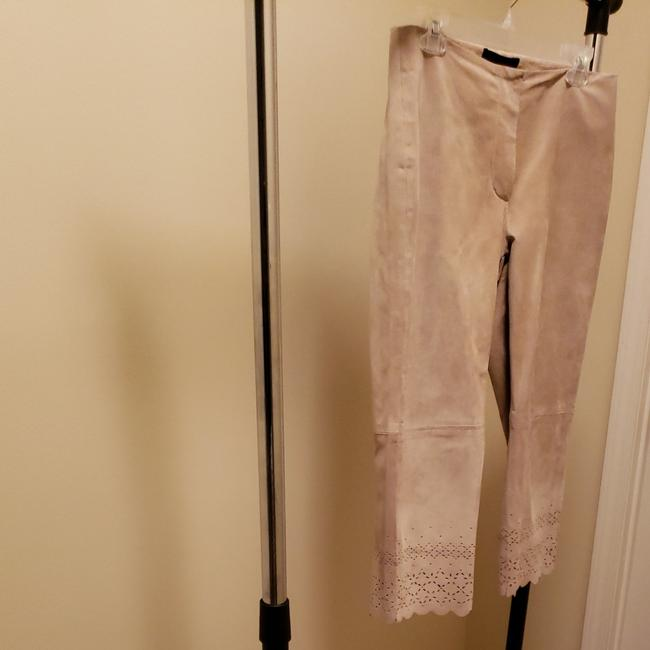 Item - Light Tan Suede Pants Capris Size 6 (S, 28)