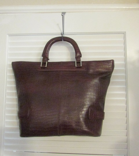 Terry Lewis Classic Luxuries Satchel in Burgundy Image 1
