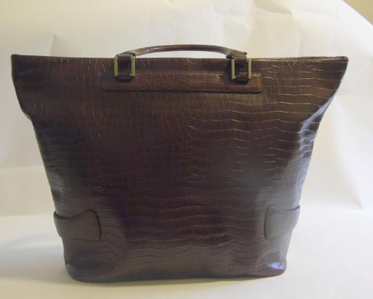 Terry Lewis Classic Luxuries Satchel in Burgundy Image 5