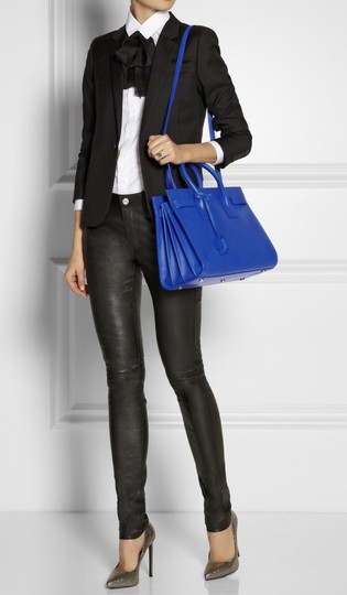 eaf373124acc Saint Laurent Sac de Jour Classic Small In Smooth Leather Royal Blue ...