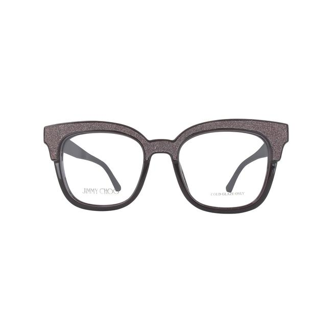 Jimmy Choo 19k Brown Glitter New Jch Jc176 Eyeglasses Jimmy Choo 19k Brown Glitter New Jch Jc176 Eyeglasses Image 1