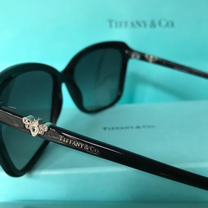 Tiffany & Co. Black with Crystal Butterflies Model TF4057 w/Case