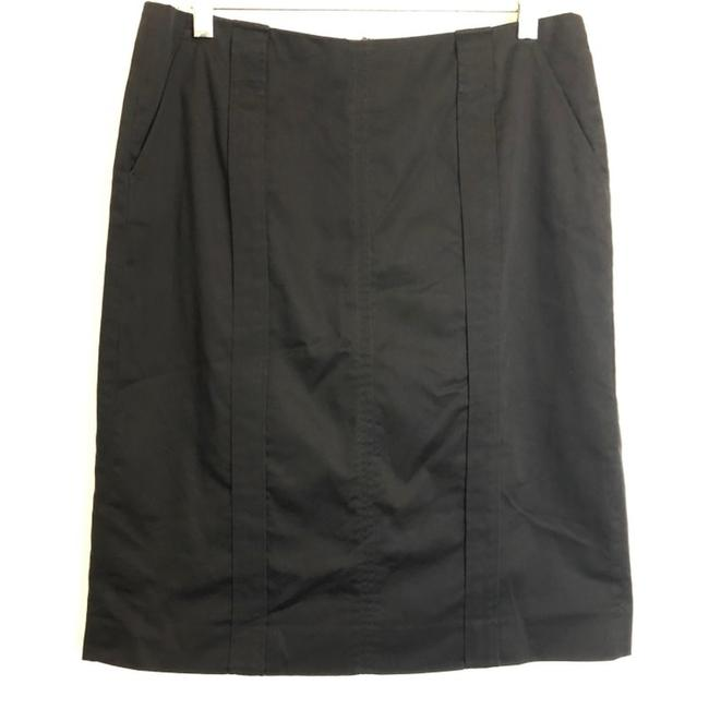 Item - Black Stretch Career Pencil Skirt Size 6 (S, 28)