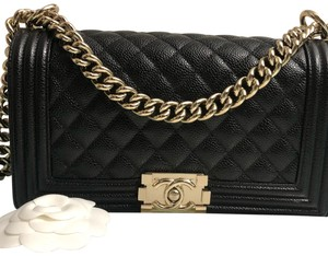 903497d3f3d5 Added to Shopping Bag. Chanel Cross Body Bag. Chanel Boy Old Medium Caviar  Leather ...