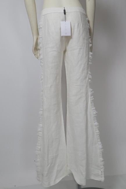 Alexis Casual Dressy Wide Leg Pants White Image 10