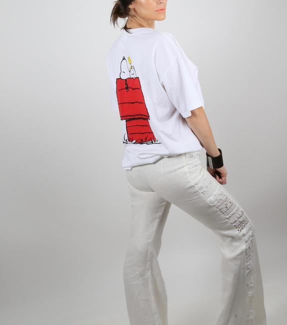 Alexis Casual Dressy Wide Leg Pants White Image 4