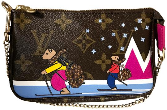Preload https://img-static.tradesy.com/item/24587788/louis-vuitton-pochette-2018-limited-edition-christmas-animation-mini-monogram-and-pink-coated-canvas-0-1-540-540.jpg