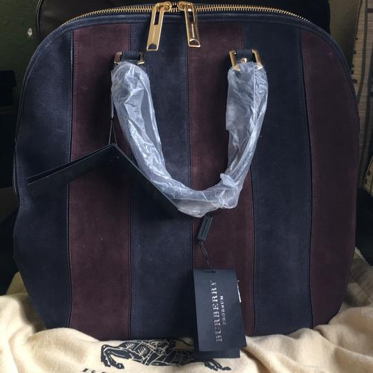 Burberry Prorsum Tote in Black Currant. Plum. Image 1