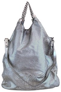 Chanel Rodeo Drive Tote in Silver