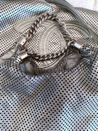 Chanel Rodeo Drive Tote in Silver Image 5
