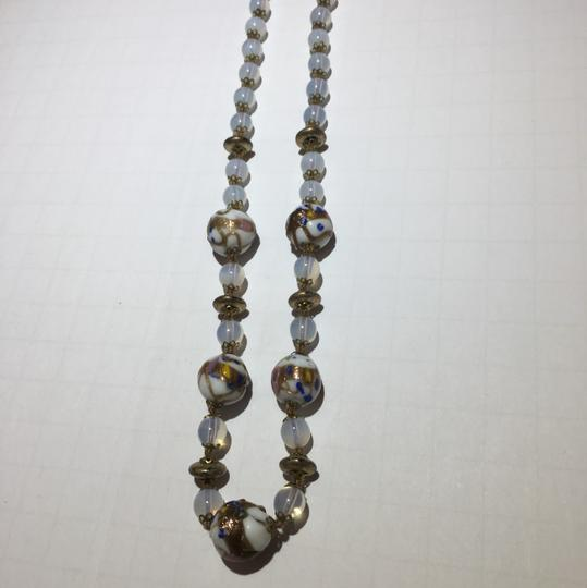 Vintage Vintage Murano Glass Beaded Necklace Image 1