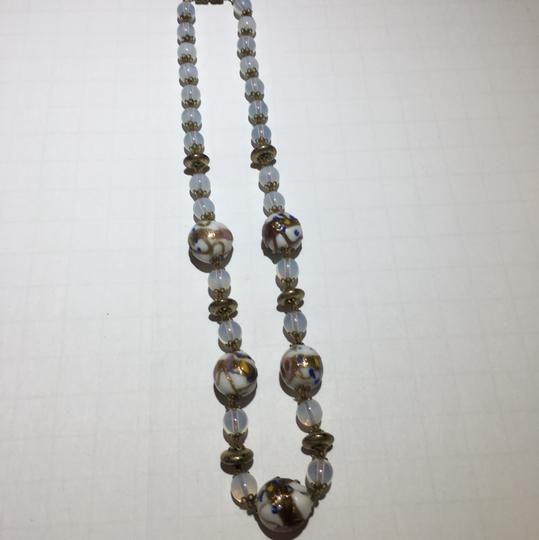Vintage Vintage Murano Glass Beaded Necklace Image 2