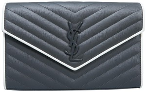 Saint Laurent Monogram Ysl Wallet On Chain Cross Body Bag