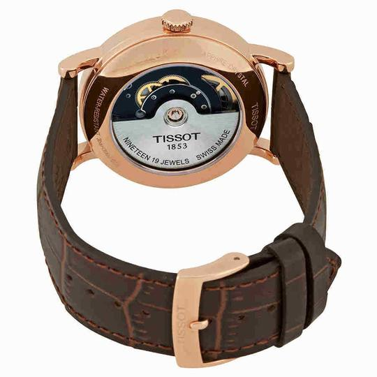 Tissot Everytime Swissmatic Automatic Men's Leather Watch Image 2