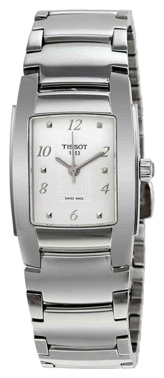 Preload https://img-static.tradesy.com/item/24588037/tissot-silver-tone-t-10-white-dial-polished-stainless-steel-ladies-watch-0-1-540-540.jpg