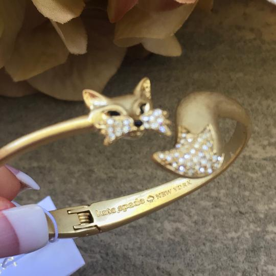 Kate Spade So Foxy Open Hinged Cuff Image 4