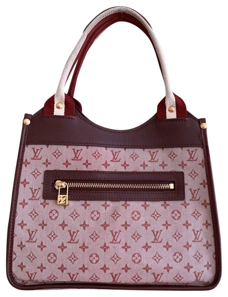 new high best authentic wholesale sales Louis Vuitton Sac Kathleen Rose Monogram Pink Canvas Tote