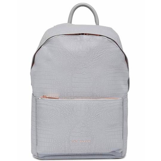 Preload https://img-static.tradesy.com/item/24588351/ted-baker-new-rahri-reflective-croc-embossed-faux-leather-gray-backpack-0-0-540-540.jpg