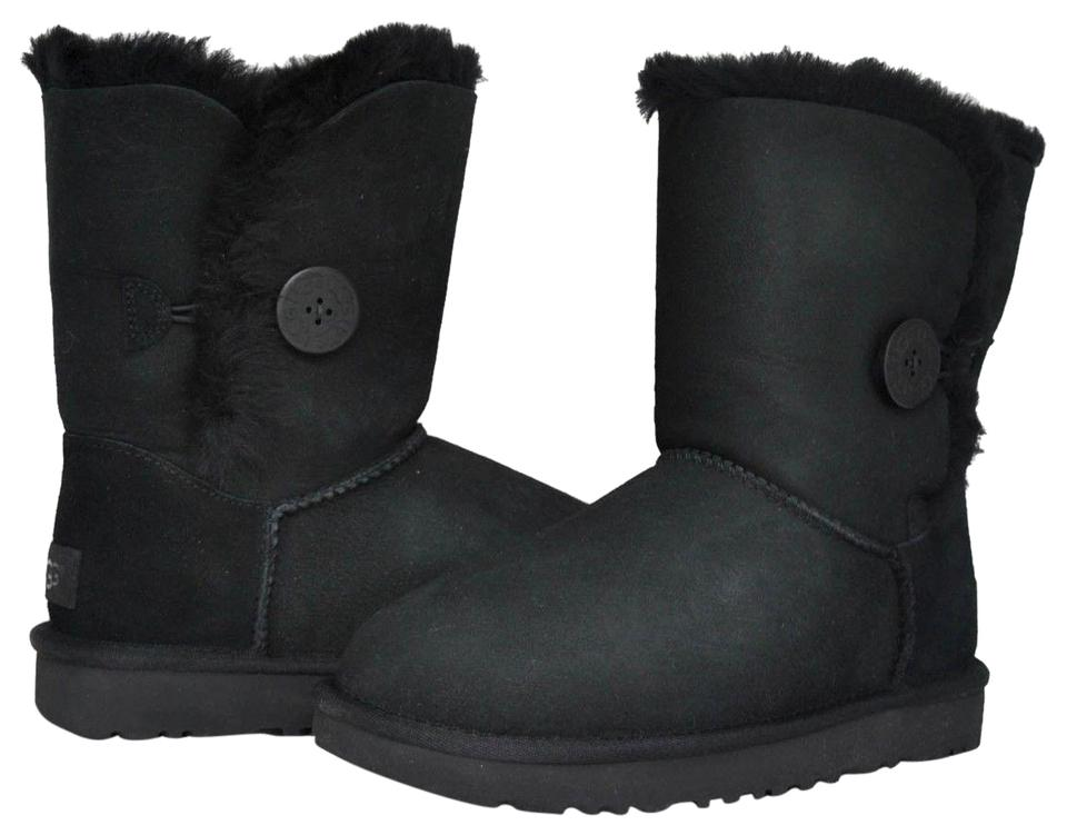 916e2a2164f UGG Australia Black Women's Bailey Button Ii 1016226 Boots/Booties Size US  5 Regular (M, B)