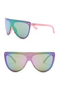 Steve Madden Steve Madden 136mm Shield Sunglasses