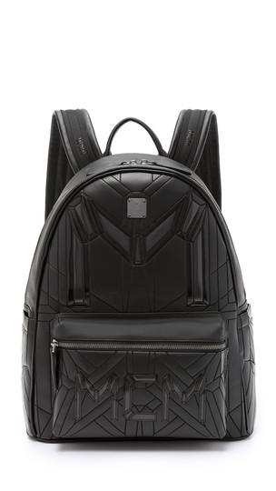 Preload https://img-static.tradesy.com/item/24588640/mcm-quilted-embossed-bionic-232006-black-leather-backpack-0-1-540-540.jpg