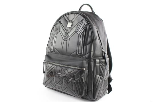 MCM Iconic Embossed Galaxy Alien Quilted Backpack Image 1