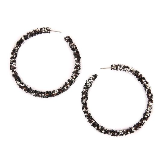 Preload https://img-static.tradesy.com/item/24588712/black-rhinestone-coated-hoop-earrings-0-0-540-540.jpg