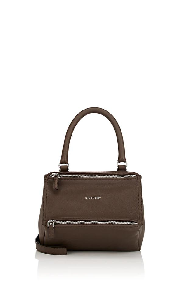 7c54656f206 Givenchy Messenger New Pandora Small Brown Leather Cross Body Bag ...